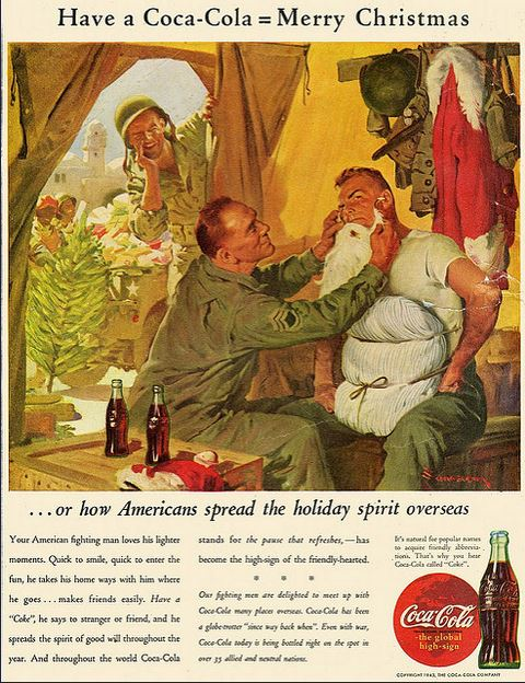 1943 December or how Americans spread the holiday spirit overseas flickr