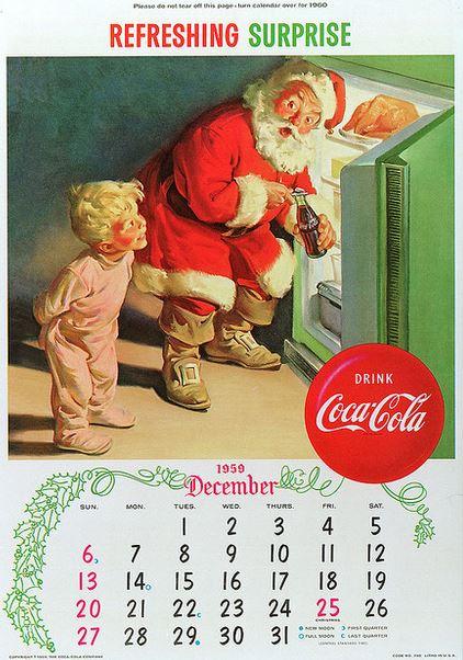 1959 Refreshing Surprise calendar flickr