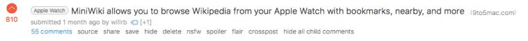 Post on r/Apple