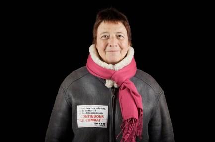 Arlette Laguiller, former spokesperson for the Lutte Ouvrière party.