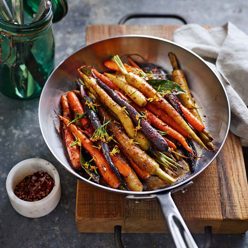 Spiced Roasted Carrots  WilliamsSonoma Taste