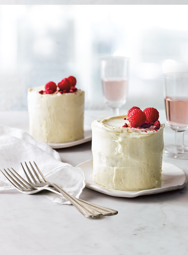 Champagne And Raspberry Mini Cakes Recipe Williams Sonoma Taste
