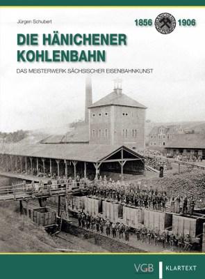"""Cover Buch """"Hänichener Kohlenbahn"""""""