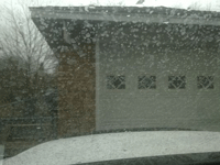 post rain dirty window