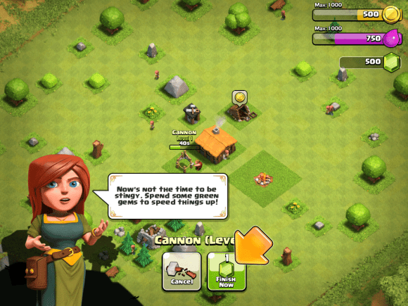 Clash of Clans Freemium strategy image