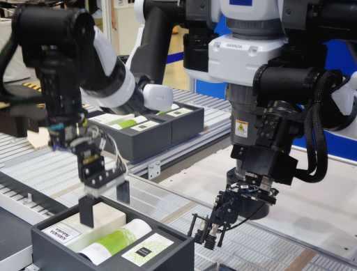 Robotics fulfilling manual labor