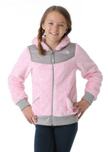The North Face Oso HOodie in Cha Cha Pink Stripe