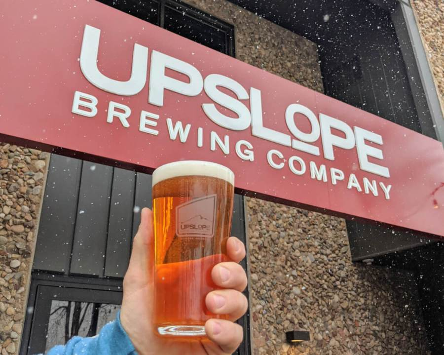 Upslope Brewing's new signature beer for Winter Park resort