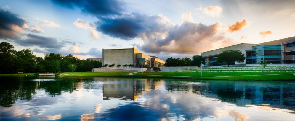 134MP image (60 component images) of the George Bush Presidential Library in College Station