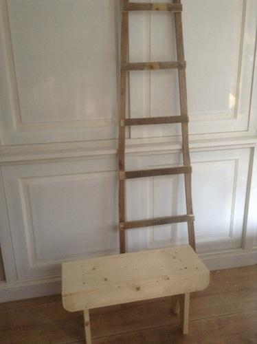 Wis en Waarachtig  sloophouten ladder maken