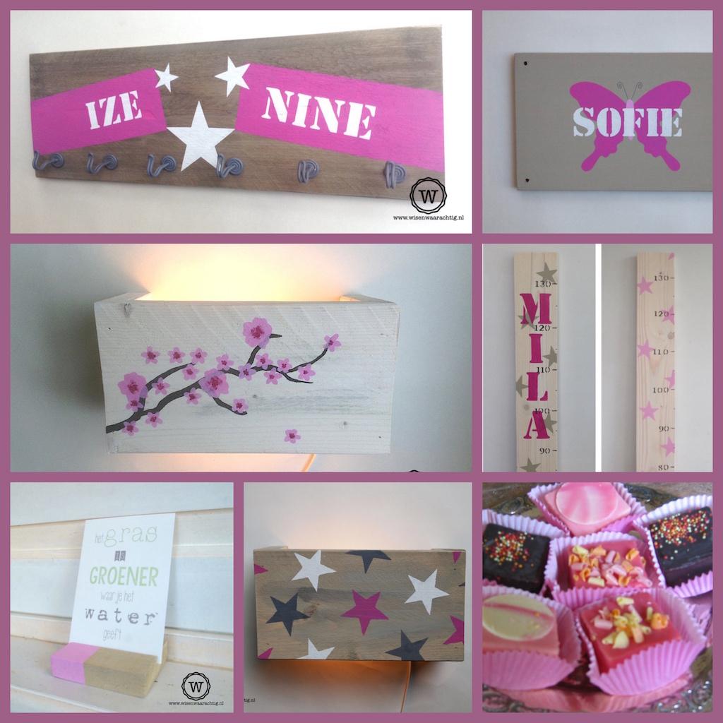 Wis en Waarachtig  Blog Archive  Roze roze en nog eens roze