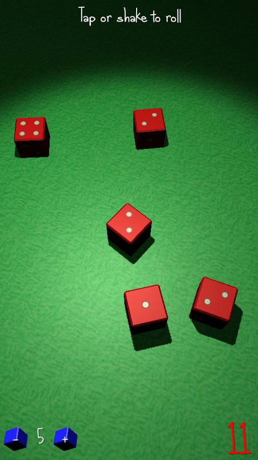 Roll-A-Dice 3D screenshot