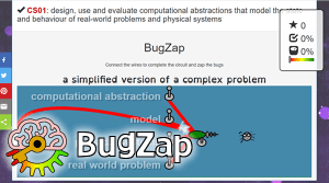 Bug Zap free computing games