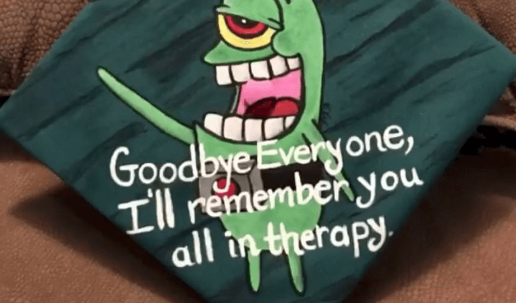 The best (worst?) graduation caps of the week