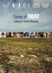 The cover for Stores of TRUST prominently features the festivals' laurels.