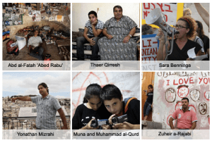 "In the ""Six Cameras"" project, B'Tselem and the Guardian gave six Palestinians and Israelis cameras to create video diaries of their lives in occupied East Jerusalem."