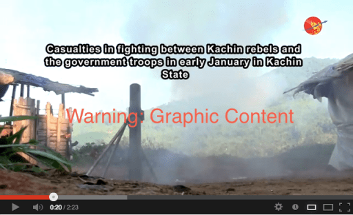 A video compilation of footage taken during the January conflict. WARNING: GRAPHIC IMAGES.