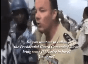 Video of a confrontation between a French military officer and a Togolese journalist made international news--and TogoVision decided to take up video to shine light on Togolese politics.