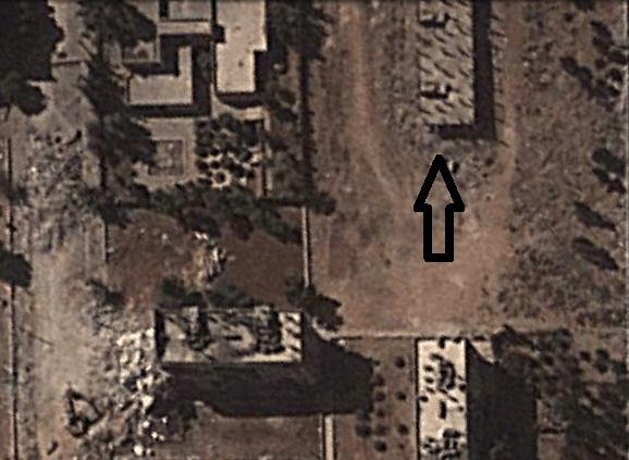 Image © 2013 Digital Globe - © Google Earth - lat 36.230709° lon 37.194852° - September  20, 2011