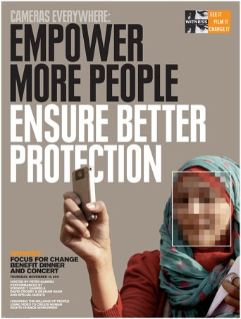 2011: Cameras Everywhere: Empower More People, Ensure Better Protection