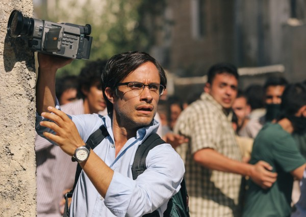 "Gael García Bernal as Maziar Bahari in ""Rosewater""."