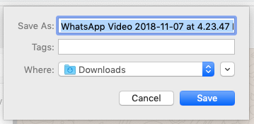 How to export content from WhatsApp - WITNESS Blog