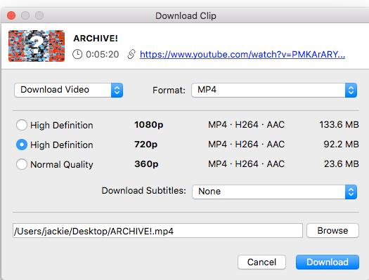 Interface of 4K Video Downloader