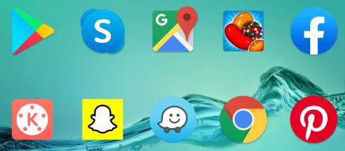 Random phone apps