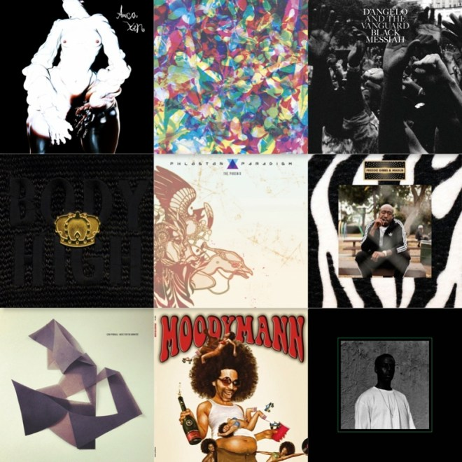 These were my favorite albums of 2014.