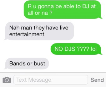 Bands or bust