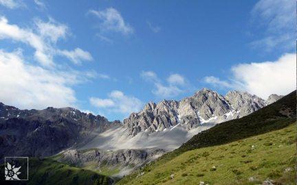 Bergansicht Schweizer Alpen