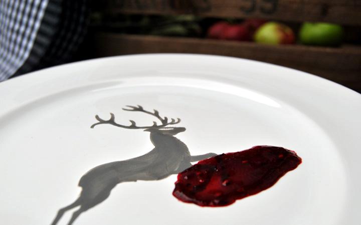 Tellerprobe Marmelade