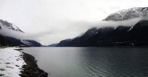 Achensee - Blick nach Achenkirch