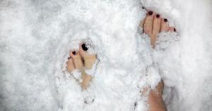 Frischer Schnee!