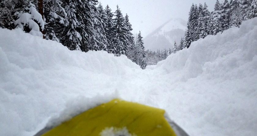Schneeschuperspektive