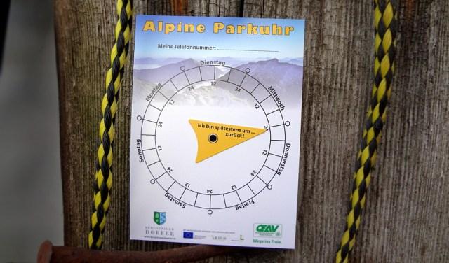 alpine-parkuhr