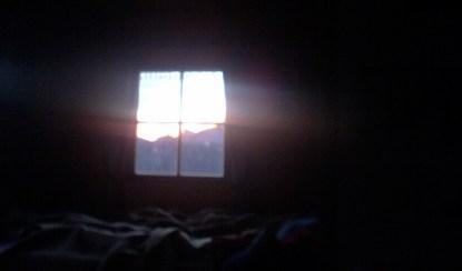 Abend an der Büllejochhütte