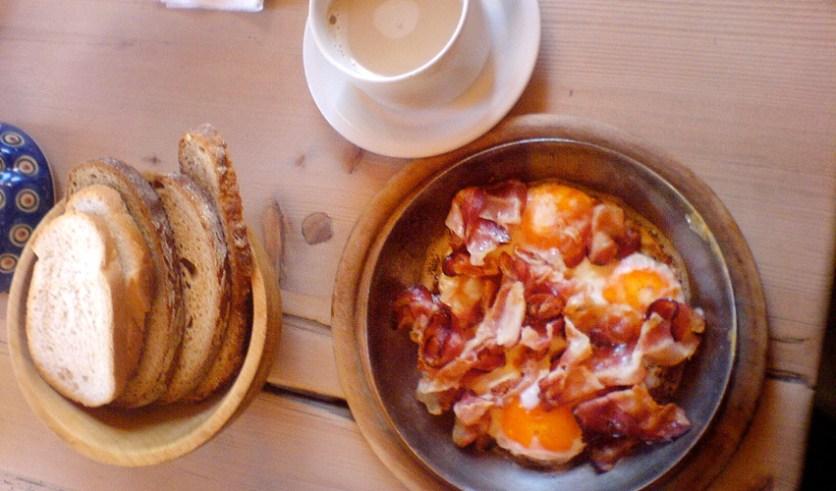 Frühstück Büllejochhütte