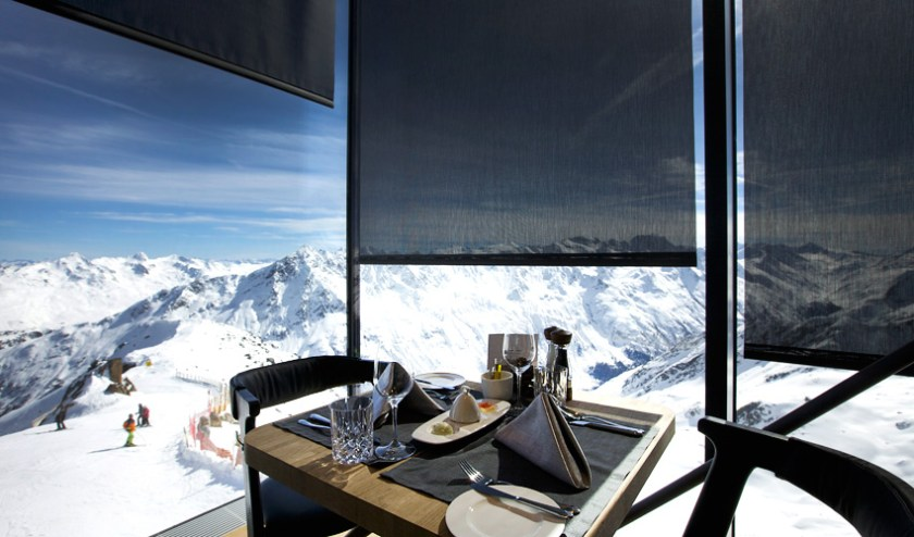 Restaurant IceQ in Sölden