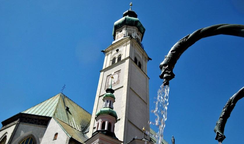 Brunnen - Hall in Tirol