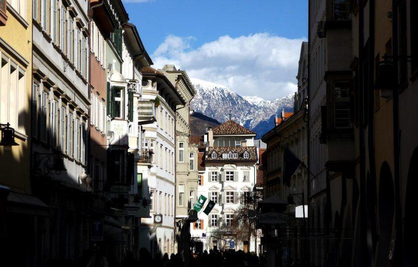 Die Altstadt von Bozen