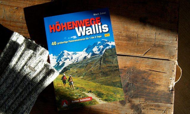 Buch Höhenwege Wallis | Bergverlag Rother
