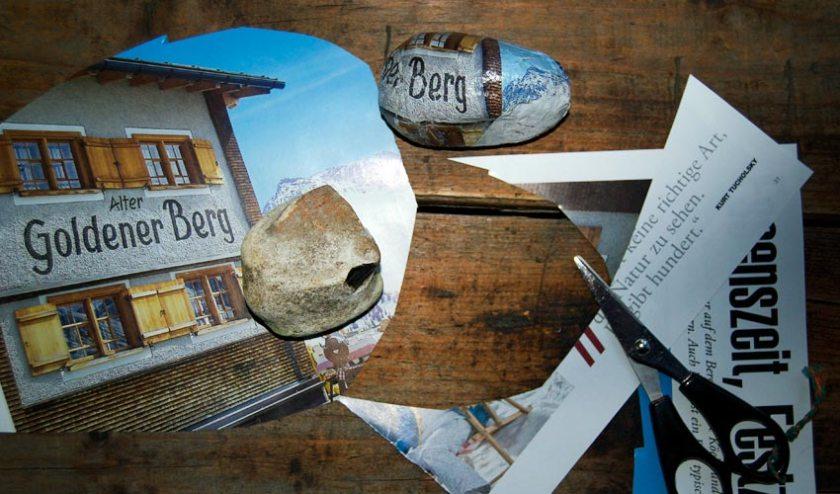 Schere Stein Papier - Briefbeschwerer basteln