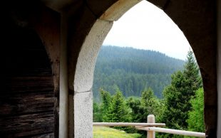 Ausblick Kirche Vigiljoch