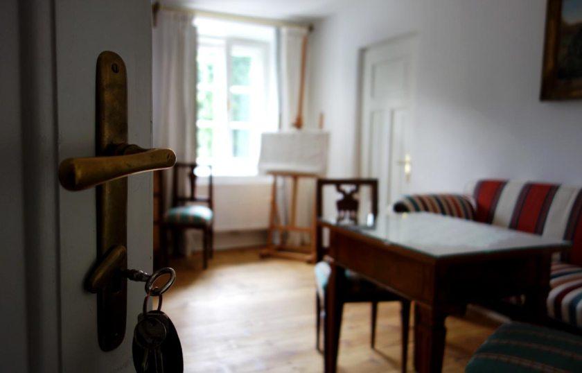Blick ins Wasmannzimmer | Ottmanngut Meran