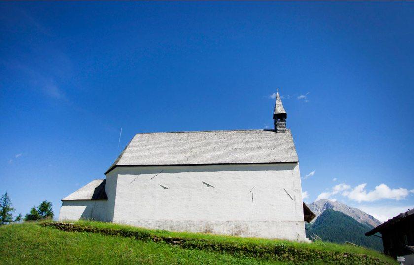 Höhenkirche St.Moritz Ultental