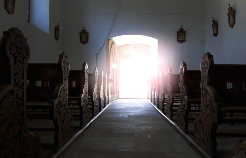 Moritzhöhe Ultental - Blick aus der Kirche
