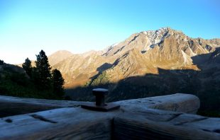 Stubaier Alpen - Holz-Drehkreuz