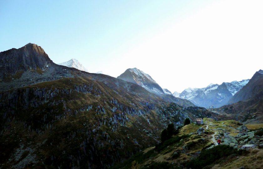 Weg zur Franz Senn Hütte