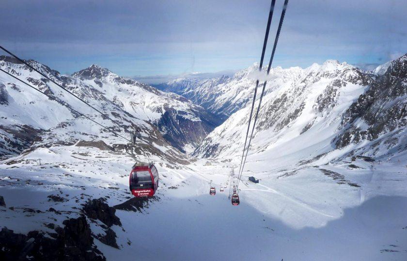 Eisgratbahn Stubaier Gletscher